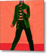 Elvis Is In The House 20130215m40 Metal Print by Wingsdomain Art and Photography