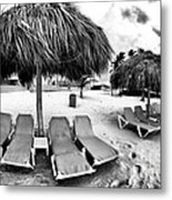Empty Lounges Metal Print by John Rizzuto