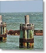 Endlessly Staring Out To Sea Metal Print