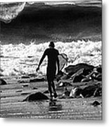 Entering The Battle Zone Metal Print