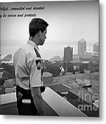 Ever Watchful Metal Print by John Malone