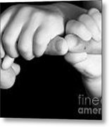 Family Hands  Metal Print by Ofer Zilberstein