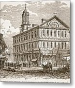 Faneuil Hall, Boston, Which Webster Metal Print
