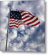 Federal Hill Flag Metal Print by Brian Wallace