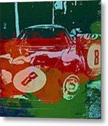 Ferrari Laguna Seca Racing Metal Print