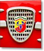 Fiat Emblem Metal Print by Jill Reger