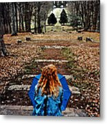 Find Me Metal Print by Lydia Holly