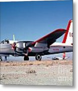 Firefighting Airtanker N4235n Metal Print