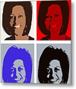 First Lady Metal Print by Robert  Suggs