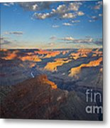 First Light On The Colorado Metal Print