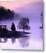 Foggy Twilight Metal Print