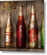 Food - Beverage - Favorite Soda Metal Print