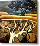 For Now She Sleeps Metal Print by Patricia Howitt