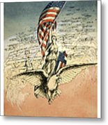 Forward America Metal Print