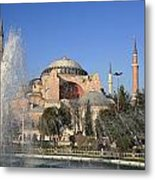 Fountains Of Wisdom Metal Print by Frederic Vigne