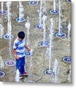 Fountains Of Youth Metal Print by Jennie Breeze