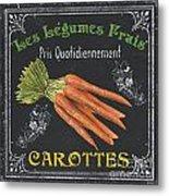 French Vegetables 4 Metal Print by Debbie DeWitt