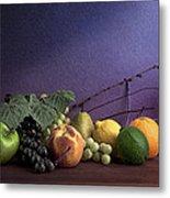 Fruit In Still Life Metal Print by Tom Mc Nemar