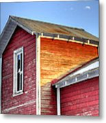 Ft Collins Barn 13502 Metal Print by Jerry Sodorff