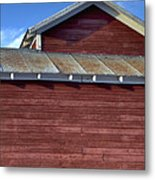 Ft Collins Barn 13550 Metal Print by Jerry Sodorff