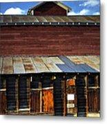 Ft Collins Barn 13553 Metal Print