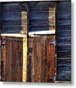 Ft Collins Barn Tin 13547 Metal Print