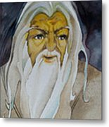 Gandalf The White Metal Print by Patricia Howitt
