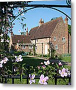 Garden  Cottage Metal Print by Stephen Norris