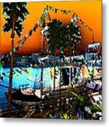 Gasparilla Sunset Metal Print by David Lee Thompson