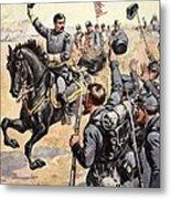 General Mcclellan At The Battle Metal Print by Henry Alexander Ogden