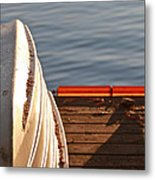Getting Ready For Winter. Metal Print