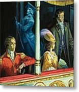Ghost At The Theatre Metal Print