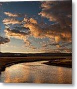 Gibbon River Yellowstone Metal Print