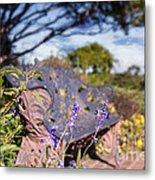 Gilcrease House Garden Flower Metal Print