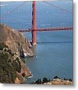 Golden Gate Bridge II Metal Print by Jenna Szerlag