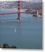 Golden Gate Bridge Metal Print by Jenna Szerlag