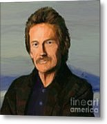Gordon Lightfoot Metal Print by GCannon