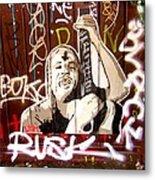 Grafiti Metal Print by Sharon Costa