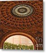 Grand Rotunda Pennsylvanian Pittsburgh Metal Print