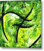 Green Apple Metal Print by Kamil Swiatek