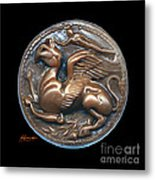 Gryphon Or Griffin Metal Print by Patricia Howitt
