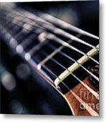 Guitar Strings Metal Print by Stelios Kleanthous