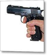 Gun Safety Metal Print