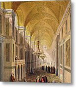 Haghia Sophia, Plate 2 The Narthex Metal Print