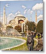 Hagia Sophia Editorial Metal Print by Antony McAulay