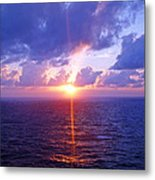 Heavenly Sunset Metal Print