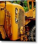 Heavy Equipment Metal Print by Amy Cicconi