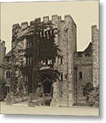 Hever Castle Yellow Plate Metal Print