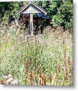 Hidden Wishing Well Metal Print by Christy Patino