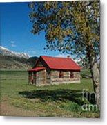 High Lonesome Ranch Metal Print